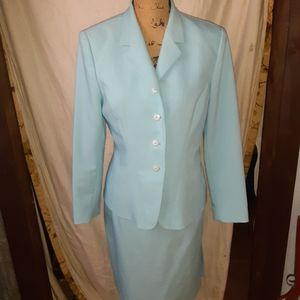 Light blue 2 piece suit